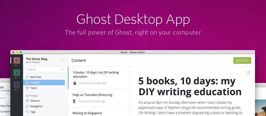 Ghost Desktop on Xubuntu 17.04 won't start