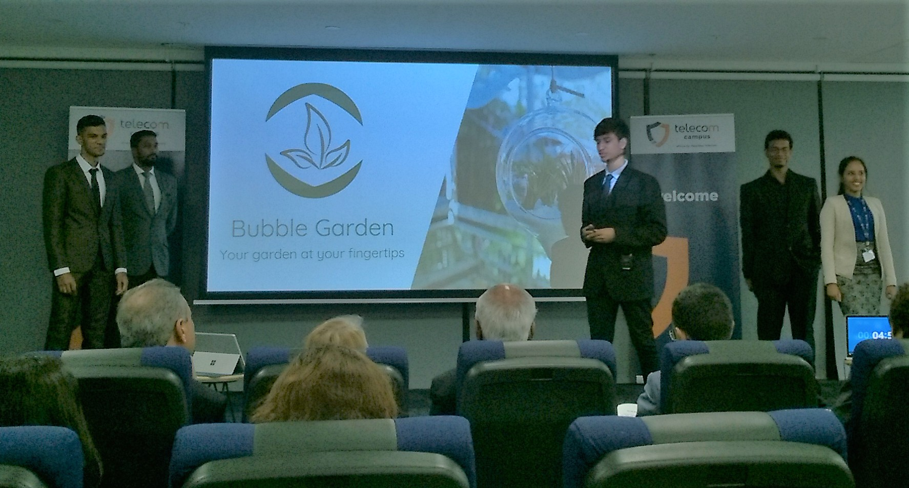 TechGardeners Bubble Garden - Your garden at your fingertips