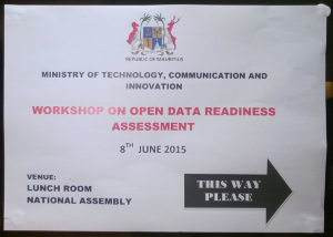Mauritius Open Data Readiness Assessment (ODRA)