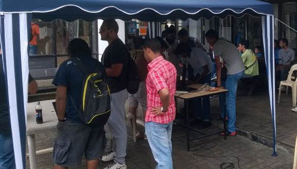 Ubuntu Jam at the University of Mauritius