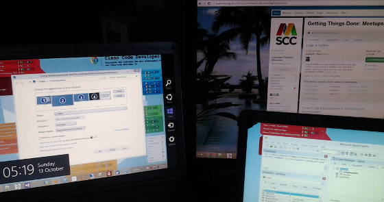 Using a portable USB monitor in Ubuntu 13.04 (AOC e1649Fwu - DisplayLink)