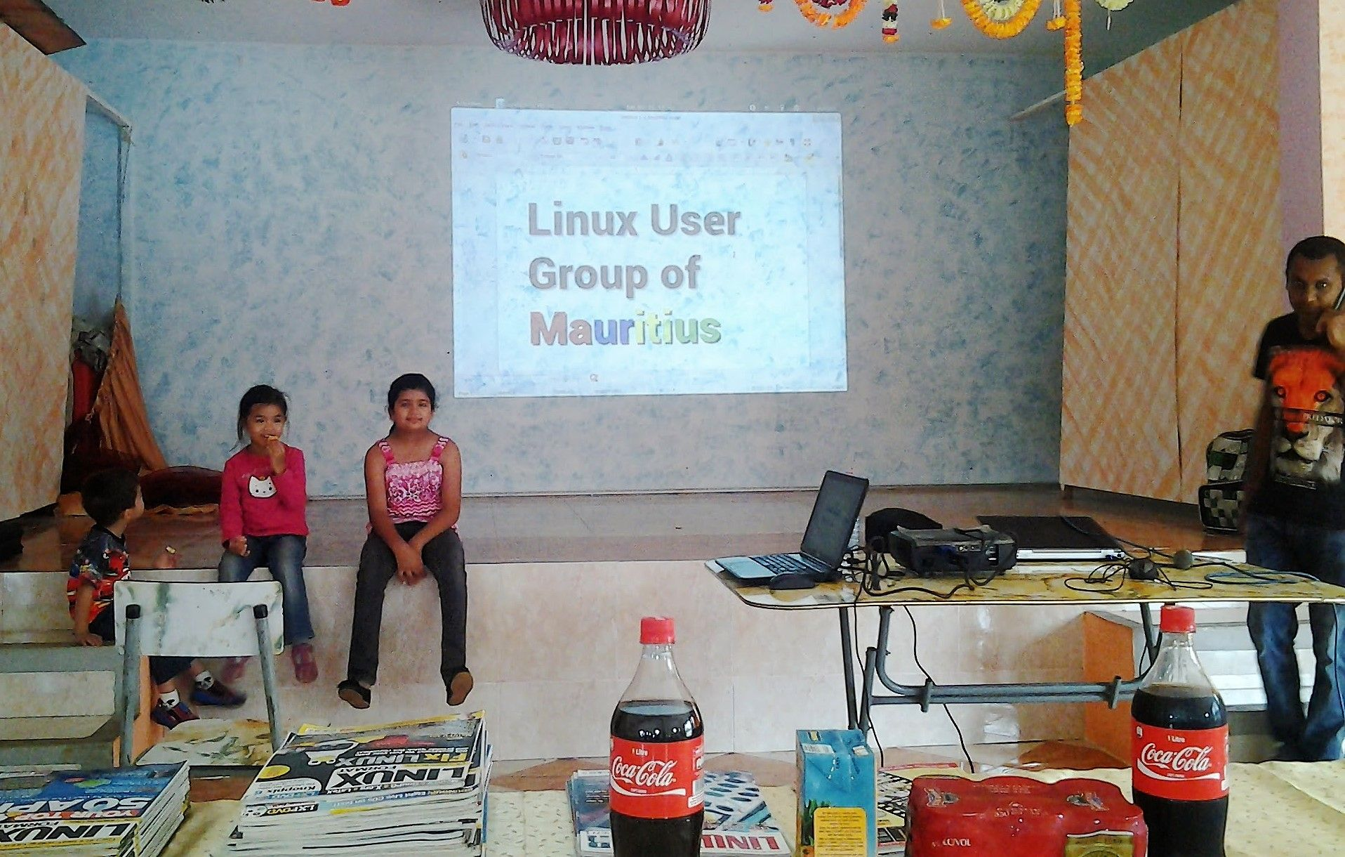 Feedback on meeting of the Linux User Group of Mauritius