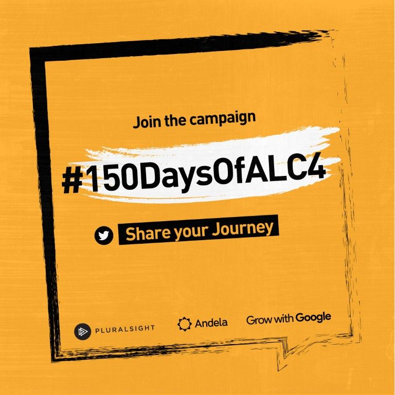 Share your journey - #150DaysOfALC4