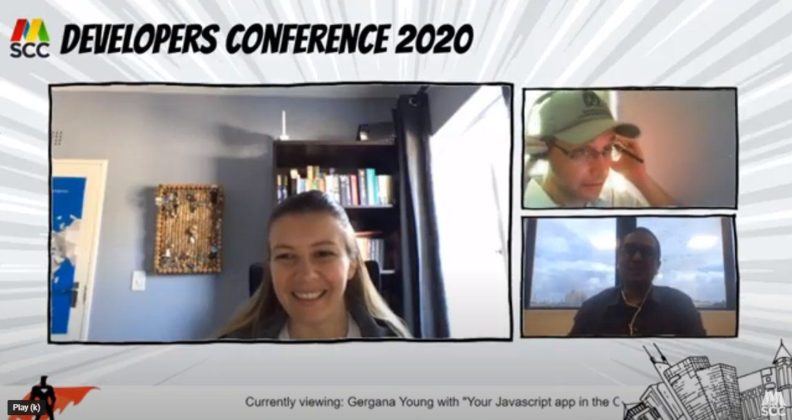 How did we run the Virtual Developers Conference 2020?